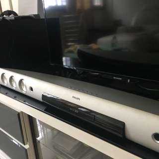 Philips Sound Bar with wireless subwoofer
