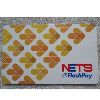 BRAND NEW!! Limited Edition Yellow Arrows NETS Flashpay card (same as ezlink card)