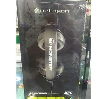 Monster Octagon UFC Over-Ear Headphones - Black