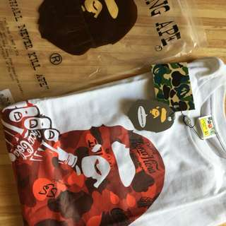 Ori Bathing Ape Bape X Cola XL