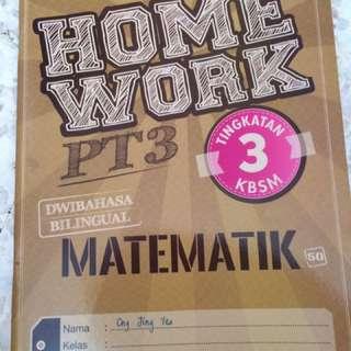 Matematics / Matematik PT3