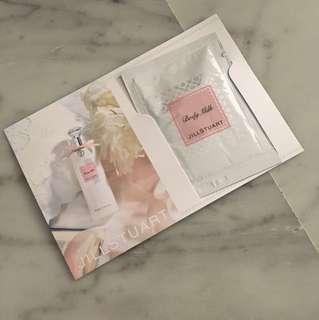 Jill Stuart body milk samples