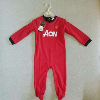 Manchester United Baby Onesie