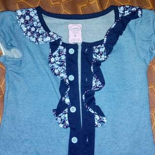 6 months to 2 years old terno kids dress