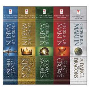 Game of Thrones Series By George R R Martin