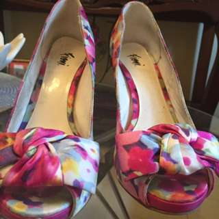 Payless Floral High Heels