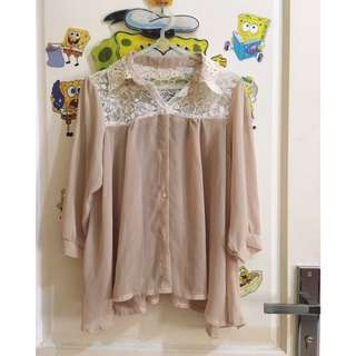 Blouse Ceruty Brukat , Kemeja , Atasan , Kaos , Dress , Longdress , Brocade , Dress Brukat