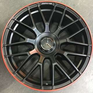 "19"" staggered wheels for Mercedes Benz"