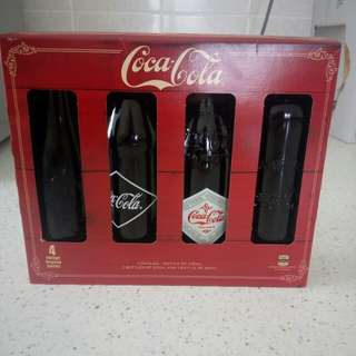Coca cola Classic Glass Bottles Heritage