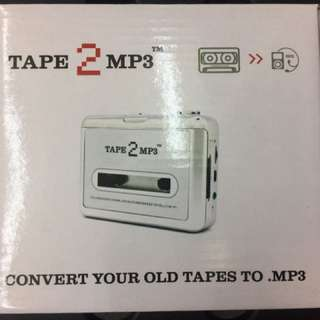 Tape to MP3 converter