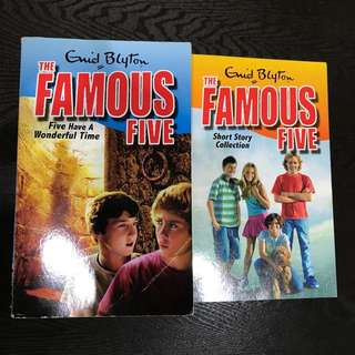 The Famous Five ( Enid Blyton ) Complete Series Book 1 to 22
