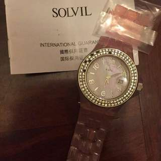 Solvil watch 時間廊發售 手錶