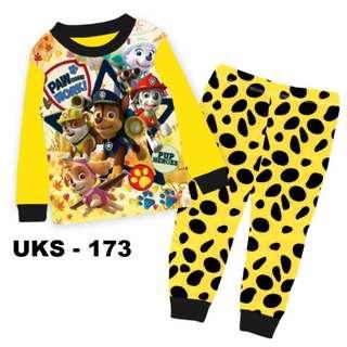 Paw Patrol Long Sleeve Pyjamas For (2 Yrs To 7 Yrs)