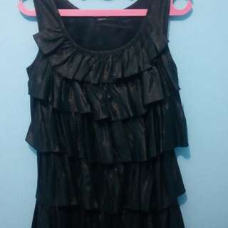 Dress Hitam Rample