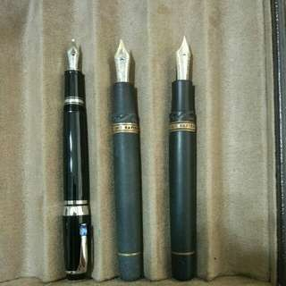 Montblanc Boheme & ViscontiHomo Sapiens fountain pens