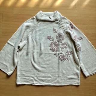 Stradivarius Turtleneck Knit Sweater