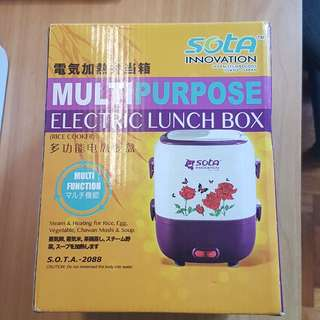 [BNIB] Multi-purpose electric lunch box