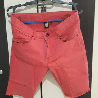 Lost Highway Red Fringed Shorts