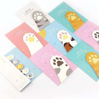 Cat Paws Sticky Notes
