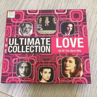 The Ultimate Collection Love - 50 of the Best Hits