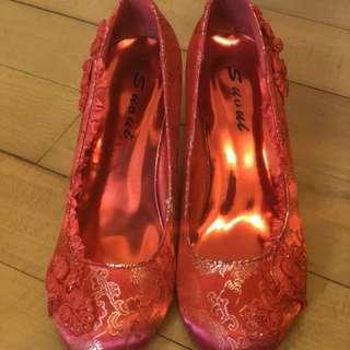 裙掛鞋(超靚)結婚,高跟鞋👠