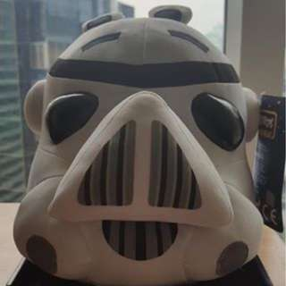 Angry Birds Star Wars Stormtrooper plush toy
