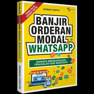 [FREE ONGKIR] Banjir Orderan Modal Whatsapp