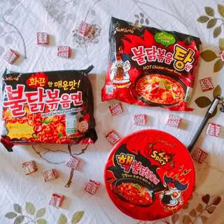 🌞Samyang Spicy Ramen Noodles 🌞💥AVAILABLE IN 3 VARIATIONS 💥