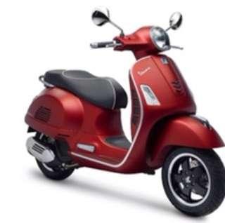 Vespa GTS 150 iget vincode 2018 (red matt)