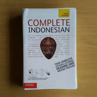 Teach Yourself: Complete Indonesian