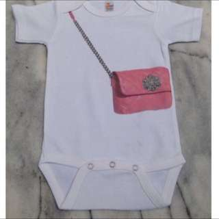 Brand New Pink Handbag Design Onesies