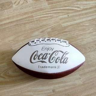 Coca-Cola classic rare Rugby Ball