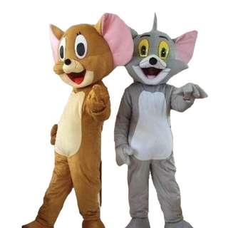 Tom & Jerry Mascot Rental