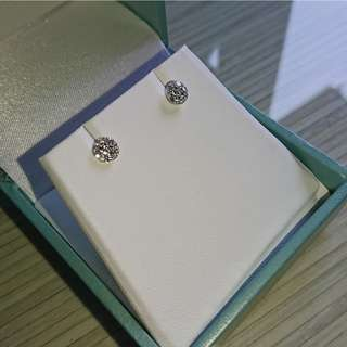 謝瑞麟新款鑽石耳環 (新品!!) - 原價$5600 . 現減至$2499(有單有據)