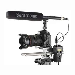 Saramonic SmartRig+ 2-Channel XLR & 3.5mm Microphone Audio Mixer