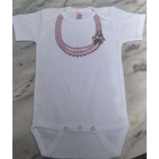 Brand New Cute Pink Pearl Design Onesies
