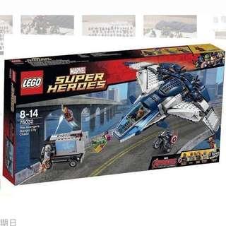 [二手]Lego 76032 Avengers2 Quinjet city chase