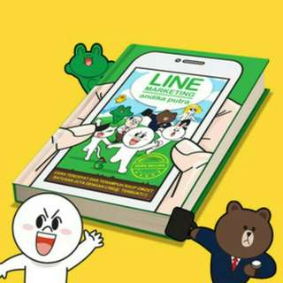 [FREE ONGKIR] LINE MARKETING