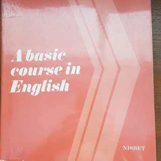 A basic course in English