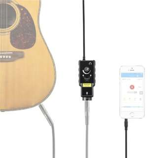 Saramonic SmartRig II Professional audio adaptor guitar interface microphone preamp for Apple iPhone, iPad, Mac, PC and Android smartphone / tablets