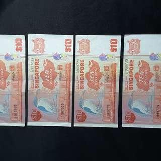 Bird Series $10 note
