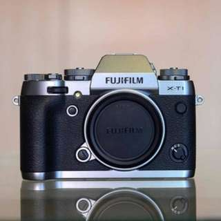 BNIB Sealed Fujifilm X-T1 Graphite Silver Body