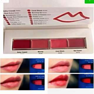 🙀CRAZY $9.80 SALE🙀 😍GET ALL 4 AMAZING BEAUTIFUL COLORS @ ONLY $9.80!!! WA, GRAB ME NOW!!!🙀👄Shiseido Makeup Rouge Rouge Palette