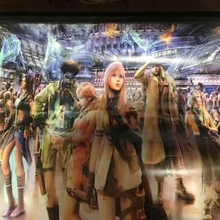 Final fantasy 13 XIII canvas poster