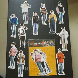 Wanna One Mexicana Chicken Sticker Set