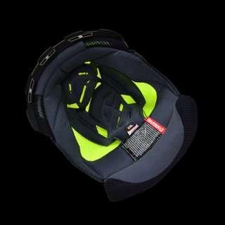 🚚 ☆宥鈞 騎士部品☆SOL SOLSF5全罩帽 內襯頭頂 皇冠一個