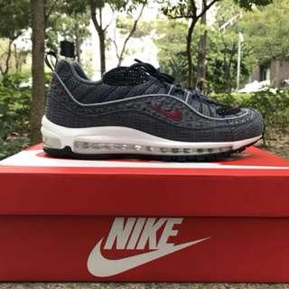 Nike air max 98 thunder blue 雷霆藍