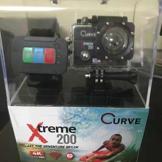 CURVE XTREME 200 ACTION CAMERA