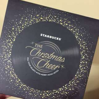 Starbucks Limited Edition Christmas Speaker Set