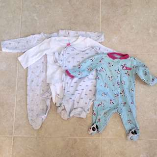 Take all onesies for nb-3mos